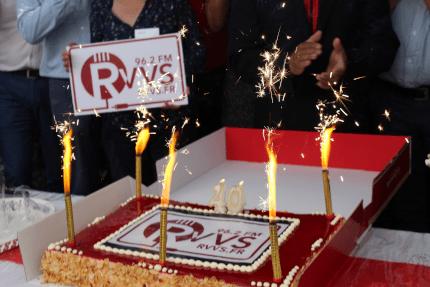 40 ans, le gâteau