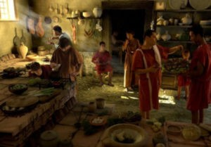 greco-romain repas