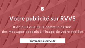 Faites votre publicité sur RVVS !
