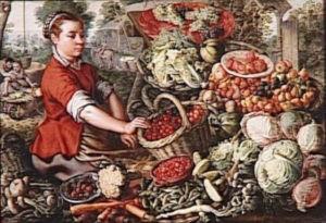 moyen age legumes