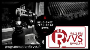 Devenez animateur, réalisateur sur RVVS !