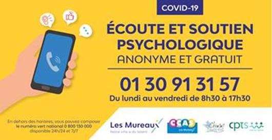 ecoute et soutien psychologique