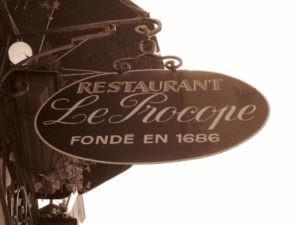 Le Procope, 1er café de Paris