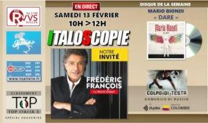 Programme Italoscopie du 13/02/2021