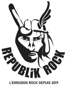 Republik rock, le nouveau logo