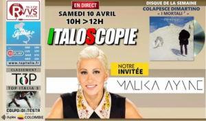 Programme Italoscopie du 10/04/2021