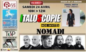 Programme d'Italoscopie du 24/04/2021