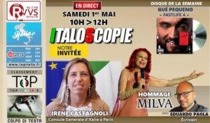 Programme d'Italoscopie du 01/05/2021