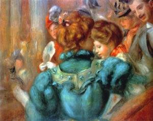 """""""Une loge au Théâtre des Variétés"""" d'Auguste Renoir"""