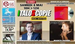 Programme Italoscopie du 08/05/2021