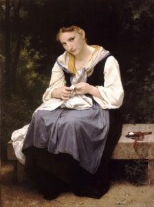 """""""Jeune ouvrière"""" de William Bouguereau"""