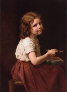 """""""La soupe"""" de William-Adolphe Bouguereau"""