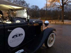 Ford A à Montmartre pour la traversée de Paris