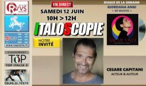 Italoscopie, le programme du 12/06/2021