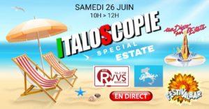 Italoscopie, programme du 26/06/2021