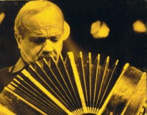 Astor Piazzolla et son bandonéon