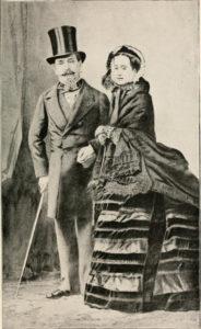 Napoléon III et Eugénie