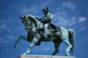 Statue de Napoléon située à Cherbourg