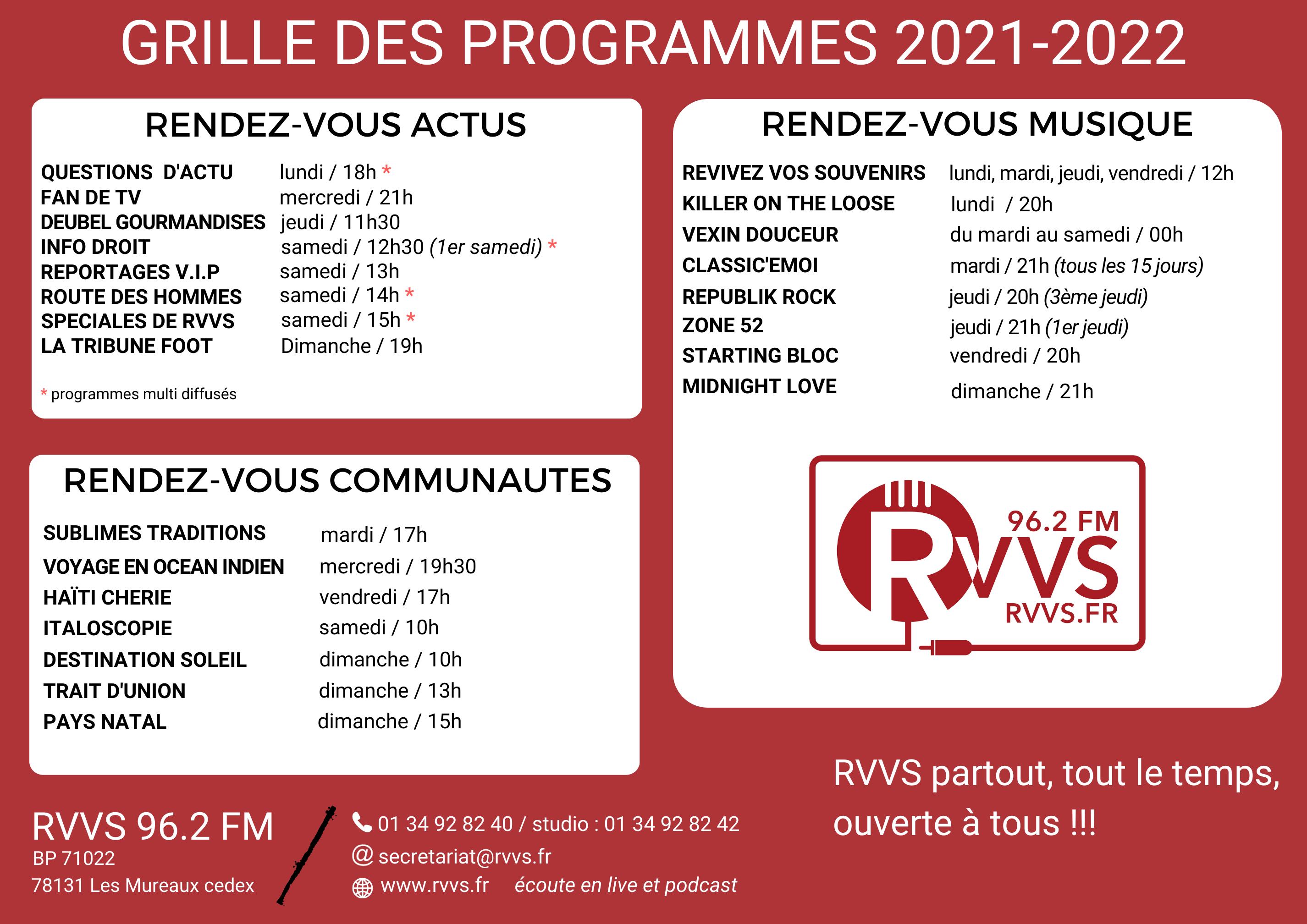 2021-2022 GRILLE DES PROGRAMMES themes