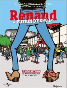 """""""Renaud, putain d'expo"""" jusqu'au 7 novembre à la Philarmonie de Paris"""
