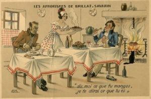 Les aphorismes de Brillat-Savarin